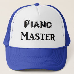 Piano Master Trucker Hat