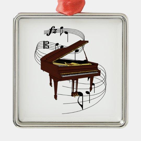 Piano Metal Ornament