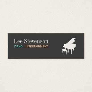 Piano Mini Business Card