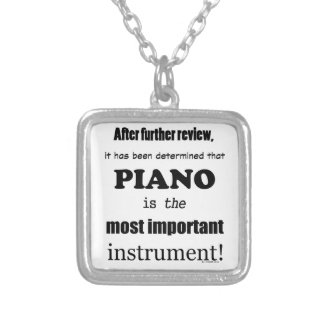 Piano  Most Important Instrument Pendants