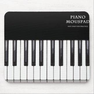 Piano mouspad mouse pad