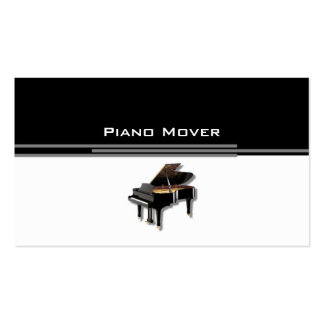 piano_mover Double-Sided standard business cards (Pack of 100)