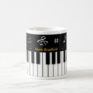 Piano Mug - Personalize Name