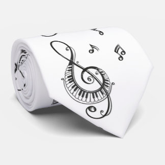 """""""PIANO MUISCAL NOTES GALORE"""" TIE"""