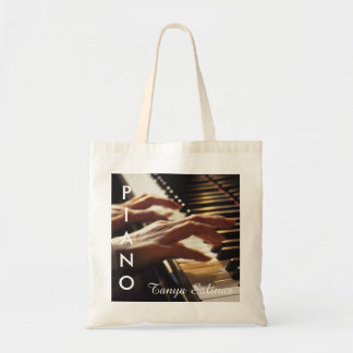 Piano Music Bag with Personalized Name