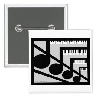Piano Music Button