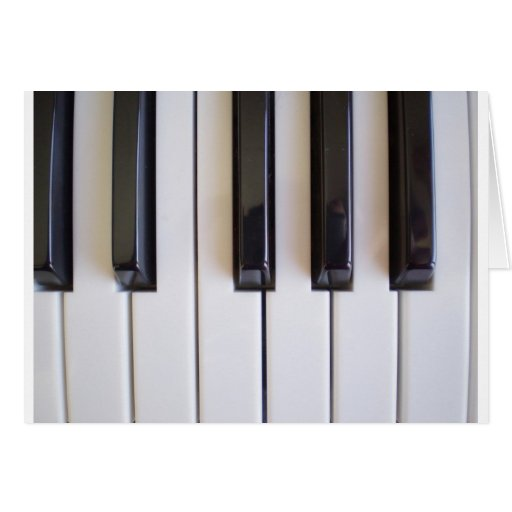 Piano Music Greeting Cards