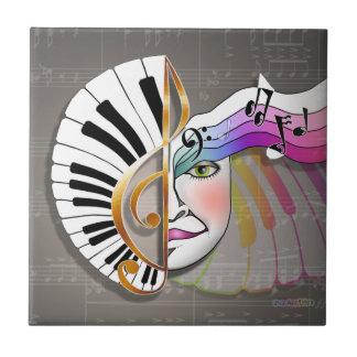 Piano Music Ceramic Tile