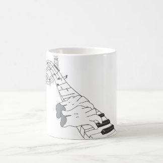 Piano Music Classic White Coffee Mug