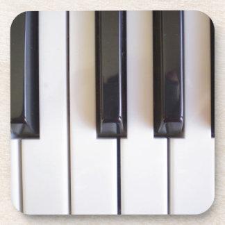 Piano Music Beverage Coaster