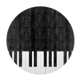 PIANO MUSIC CUTTING BOARD
