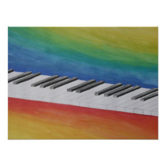 Piano Music Dance Peace Love Party Destiny Poster