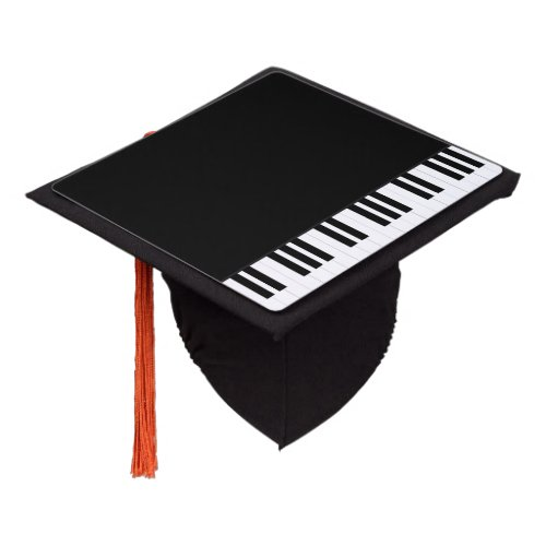 PIANO MUSIC GRADUATION CAP TOPPER