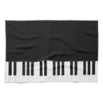 PIANO MUSIC HAND TOWEL