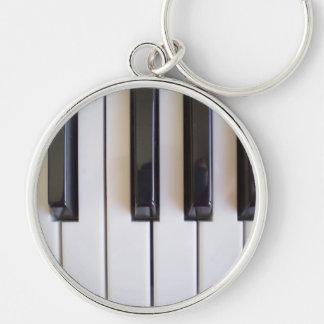 Piano Music Keychain