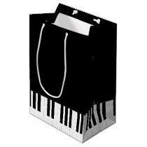 PIANO MUSIC MEDIUM GIFT BAG