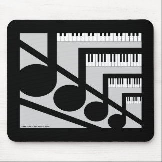 Piano Music Mousepad