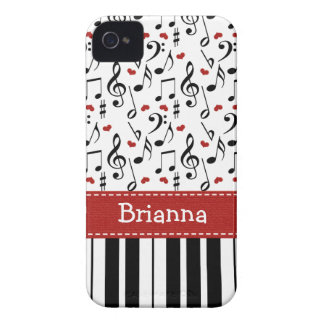 Piano Music Note iPhone 4 / 4s Case-Mate Cover iPhone 4 Case-Mate Case