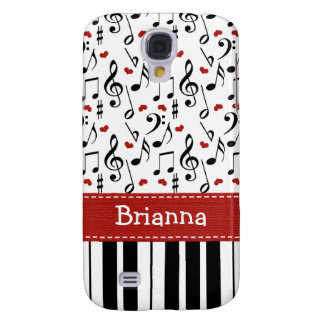 Piano Music Note Samsung Galaxy S4 Cover