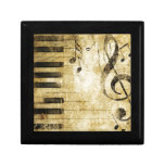Piano Music Notes Gift Boxes