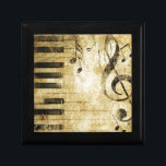 "Piano Music Notes Jewelry Box<br><div class=""desc"">Piano Music Notes</div>"