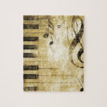 "Piano Music Notes Jigsaw Puzzle<br><div class=""desc"">Piano Music Notes</div>"