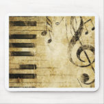 Piano Music Notes Mousepads