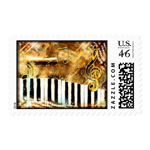 Piano Music & Notes Postage