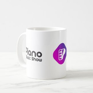 Piano Music Show coffee mug