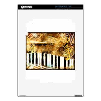 Piano Music iPad 2 Decal