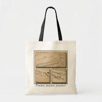 Piano Music Tote Bag zazzle_bag