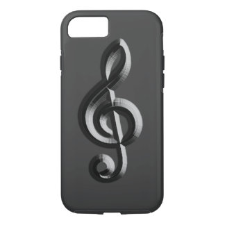 Piano musical emboss iPhone 7 case