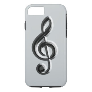 Piano musical emboss iPhone 8/7 case