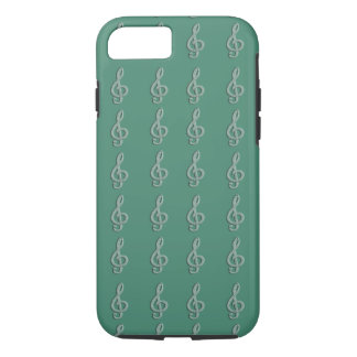 Piano musical G-clef iPhone 8/7 Case