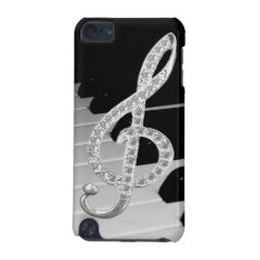 Piano Musical Symbol Ipod Touch (5th Generation) Case at Zazzle