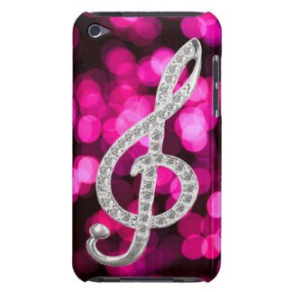 Piano musical symbol iPod touch case