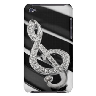 Piano musical symbol iPod touch Case-Mate case