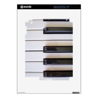 piano notes v1 iPad 2 decals