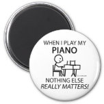 Piano Nothing Else Matters Refrigerator Magnet