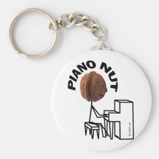 Piano Nut Keychain
