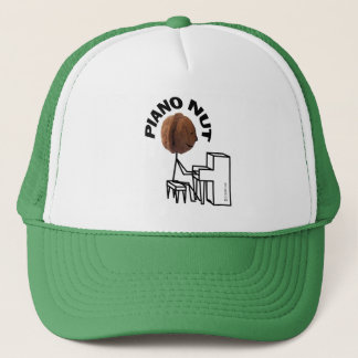 Piano Nut Trucker Hat