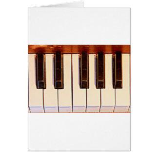 Piano Octave Card