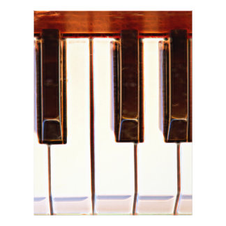 Piano Octave Custom Letterhead