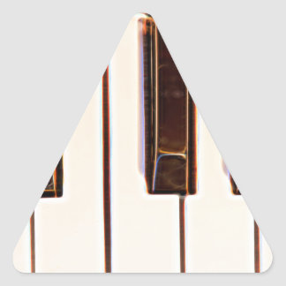 Piano Octave Triangle Sticker