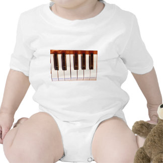 Piano Octave Baby Bodysuits