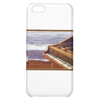 Piano on a Beach iPhone 5C Cover