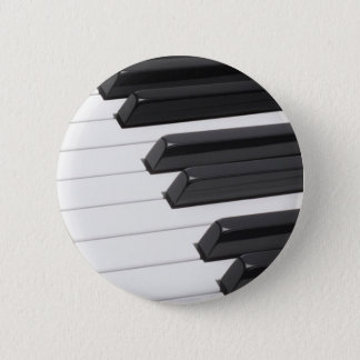 Piano or Organ Keyboard Keys Button