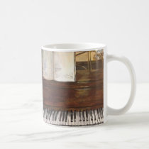 Piano Painting Mug by Willowcatdesigns
