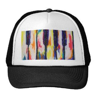 Piano Pastels Cap Trucker Hat