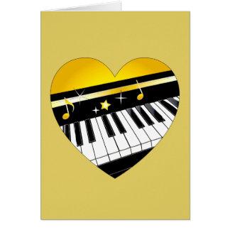 Piano Performance or Recital Congratulations Card